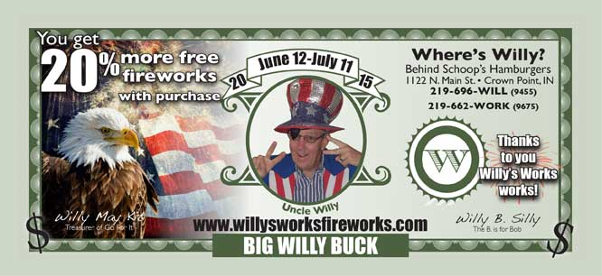 Willys Works Fireworks Photo