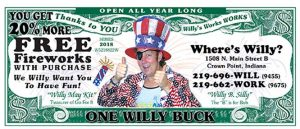 Willy Buck 2018 front
