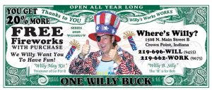 Willy Buck 2020 front