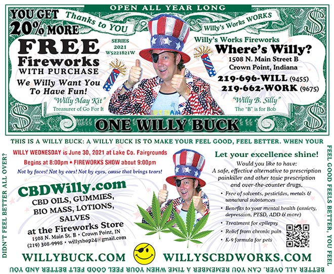 2021 Willy Buck - Front and Back